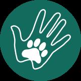 Paws circle logo